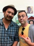 Me and Joe Lo Truglio